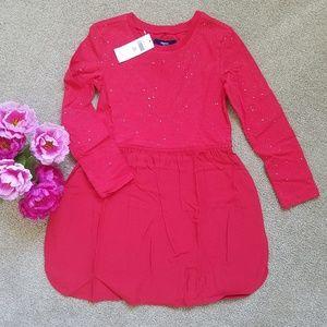 GAP Dresses - Mixed media long sleeve dress